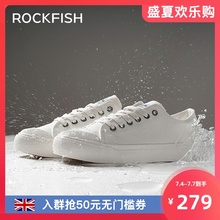 Rockfish splash proof canvas shoes 2020 new shoes versatile board shoes summer thin women's shoes small white shoes