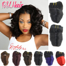 Wig 8A Brazilian virgin human hair loose wave
