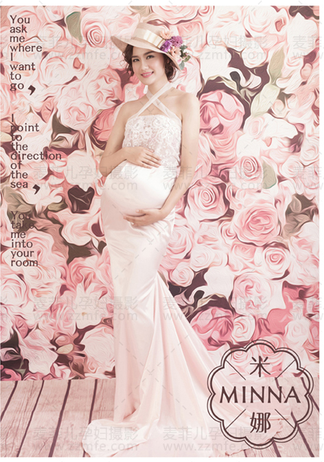 Pregnant photography theme costumes Pictorial pregnant women pregnant women art as photo costume studio new maternity clothes