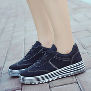 The autumn wind Harajuku sports shoes ulzzang shoes Korean students all-match thick tide shoes breathable shoes