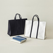 Korea fashion business briefcase female Canvas Tote package casual student bag cloth