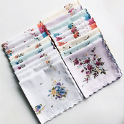 Small handkerchief small Suihua scallop handkerchief handkerchief cotton handkerchief special offer fresh impulse Ms.