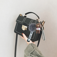 Ins Chaohuo Sen on the new small bag female 2018 new wave Korean version of the wild girl shoulder Messenger bag 2017