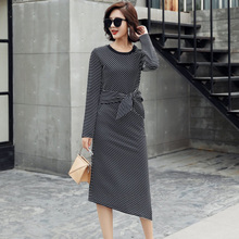 Mubo Kasuoluoshilin flagship store 201 thousand and 700 PS Bao irregular one-piece dress skirt dress autumn