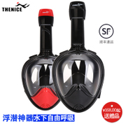 THENICE snorkeling Sambo mask myopia full dry breathing tube swimming mirror child adult diving equipment