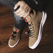 Hip hop shoes shoes fall 2017 new high shoes all-match Kobron trend of Korean sports leisure shoes