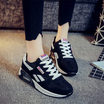 2017 new breathable sneakers Korean air spring summer womens shoes shoes thick-soled shoes student leisure running shoes wave
