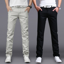 Autumn and winter men's pants pants men Korean slacks men's trousers and winter cashmere thickened male trend