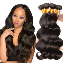 1pc Brazilian virgin human hair 100% weave 8A body wave hair curtain