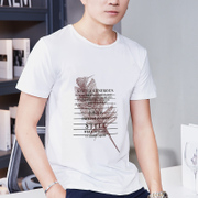 2017 new summer men's short sleeve T-shirt student half sleeve clothes Mens T-shirt fashion slim youth