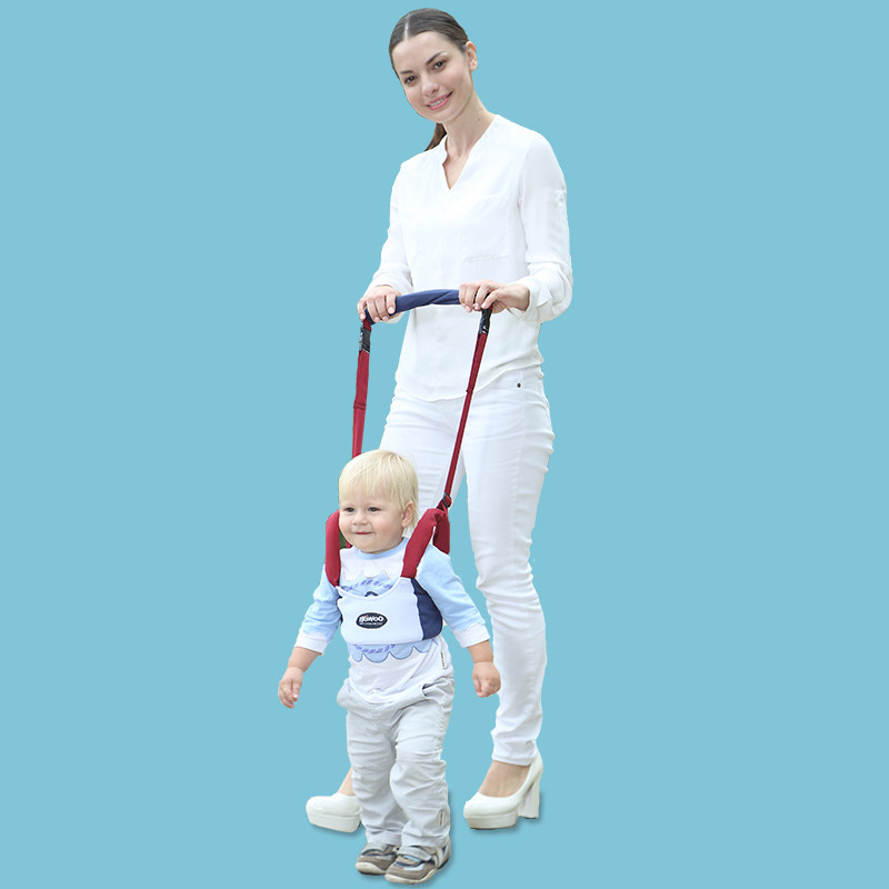 Baby steps with air spring and summer to mention baby learning to walk anti anti fall Le traction rope child safety in summer