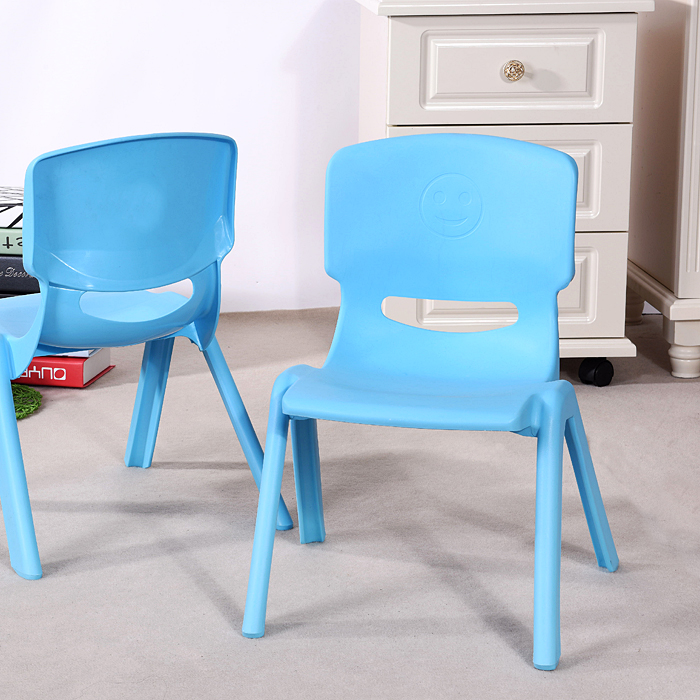 The adult group of children kindergarten thick plastic chair chair chair stool chair primary school students
