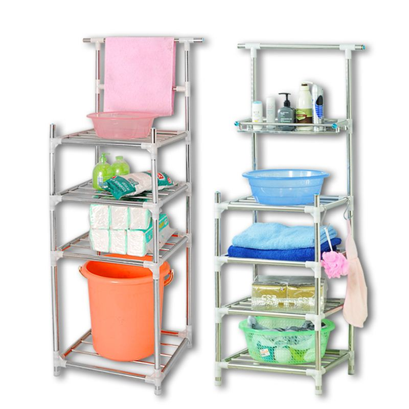 Multi layer stainless steel washbasin, bathroom, bathroom, kitchen floor, washbasin, shelf, storage rack, storage rack