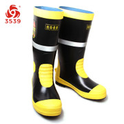 New Fire emergency rescue rubber long sleeve anti-puncture fire-proof anti-skid boots 6KV insulated Shoes