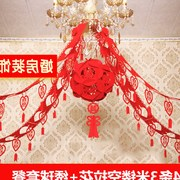 Wedding supplies wedding room decoration ideas wedding arrangement of new homes prop nonwoven pull flower Ribbon for mail
