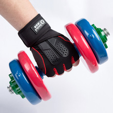 New men's semi outdoor sports gloves thin slip cycling Fitness Gloves selling Taobao