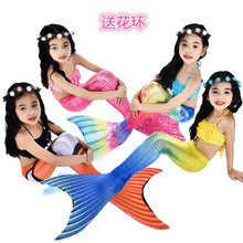 Child Mermaid Swimsuit Girl Princess Dress Mermaid Tail Mermaid Dress Girl Swimsuit