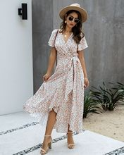 Summer beach sweet dresses Maxi