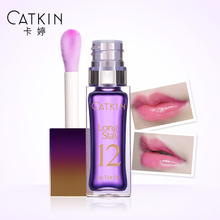 Card Ting lasting moisturizing lip gloss oil emulsion thermochromic waterproof lip gloss lip liquid dye decolorization