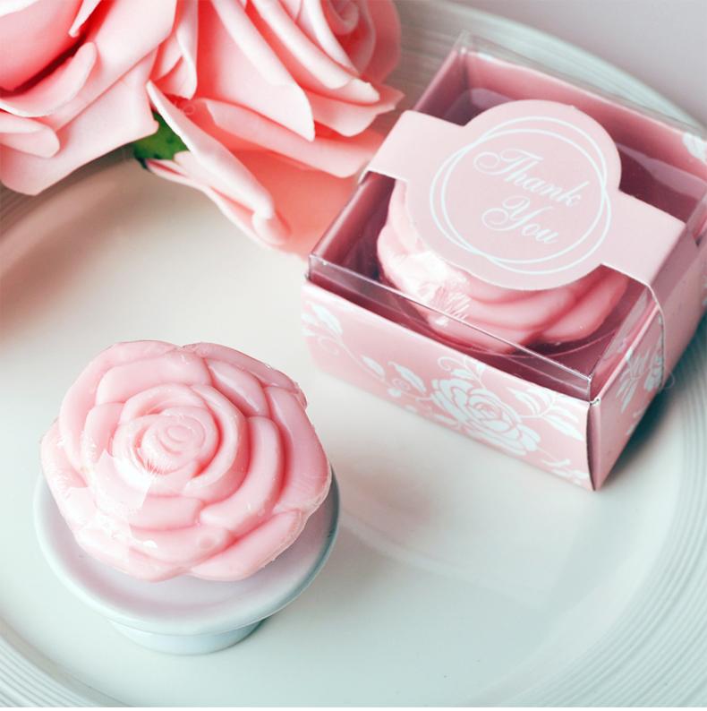 玫瑰迷你小礼品香皂创意浪漫结婚礼物伴手礼可爱纯手工精油皂肥皂