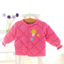 2016 girls winter Korean new baby clothes girls thicken cotton Liner Jacket padded coat jacket coat