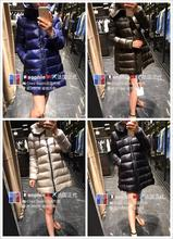 Paris purchasing peppers with the paragraph moncler suyen doll models down jacket in the long section