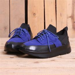 36-45欧美高街T台走秀坡跟增高闪亮新潮系带松糕鞋男女潮J10-X859