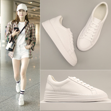 Little white shoes female 2018 spring new Korean version of the wild female shoes ulzzang Harajuku style female shoes
