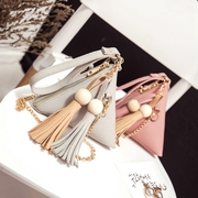 2017 new small triangle bag female Bag Handbag Satchel Korean summer zongzi diagonal Mini Hand Bag