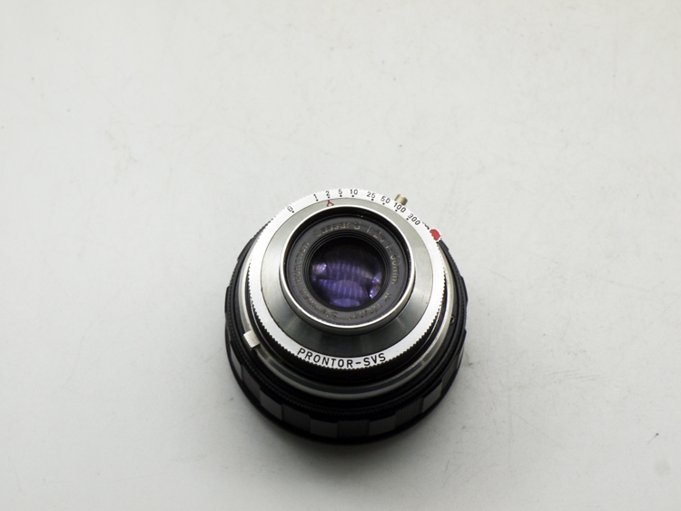 Stan haier Steinheil 50/2.8 camera lens has to E bayonet close-up distance of about 15 cm
