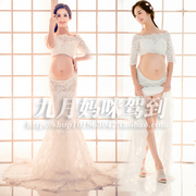 142 pregnant women clothing portrait photography camera studio pictures beautiful fairy son Fuku Sa dress rental