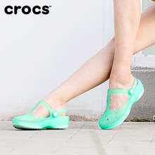 Crocs sandals female kaluochi shoes holes shoes flat beach shoes slippers female summer wear 11209