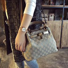 Hongkong authentic bags 2017 female new satchel Korean fashion minimalist leather bag all-match single shoulder bag