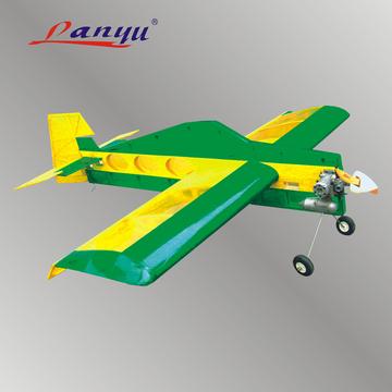 3d特技机轻木固定翼遥控飞机模型空机航模油动模型飞机蜂鸟25