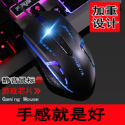 Platinum cable games glow mouse bid usb notebook desktop silent mute office home LOL