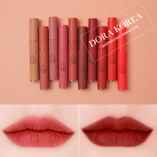 South Korea 3CE Autumn and winter Matt velvet Lip glaze Lip gloss Mist lipstick Pumpkin Color Bean brick Brick red TUPPE