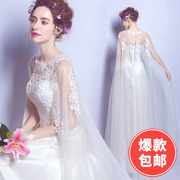 Angel wedding dress sexy perspective lace flower princess bride wedding dress 2558 vacation tourism location