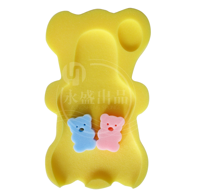Baby sponge bath mat, baby bath sponge cushion, non slip sponge, use tub to buy