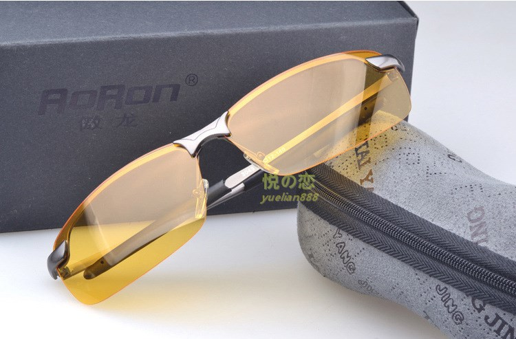 ray ban night driving glass  the new polarized light night vision goggles for men's sunglasses night with the driver's night driving
