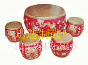 Factory Direct/national culture painted drums/Dong/crafts drum stool/drum table/tea table drum/craft Drum