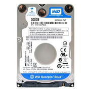 Package WD/ western data WD5000LPVX notebook hard disk 500g single disc
