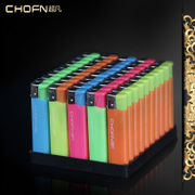 Disposable plastic lighter windproof advertising extraordinary electronic lighter Hotel customized printing logo.