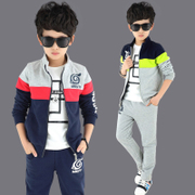 Kids Boys spring set 2017 new 6 7 8 children 9 boys 10 Korean sports clothes 12 years 13 tide 15