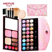 Heng Yue 33 color earth colour pearl lace nude make-up makeup palette Eyeshadow blush color genuine suit