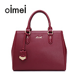 Oimei brand handbags killer handbag leather handbag female bag 2016 new winter wild bag shoulder bag