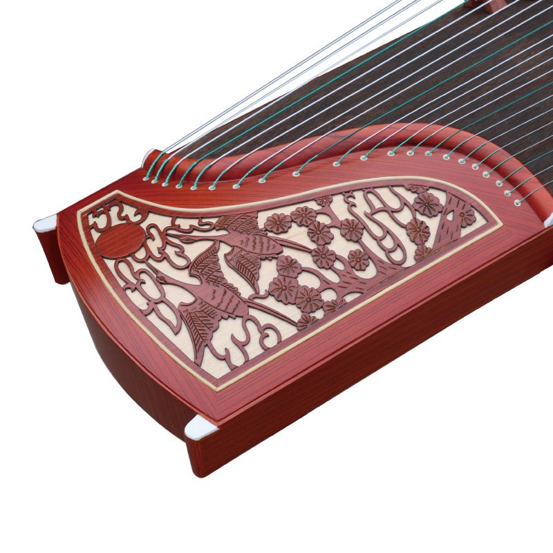 Guzheng play guzheng professional distinction Practice common piano Mahogany piano code to send a full set of accessories