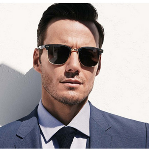 2015 new business men retro Polarized Sunglasses Boss sunglasses glasses mirror drive