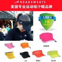 Authentic sweat-absorbent authorized American Headsweats Hat roof shading marathon running Triathlon speed