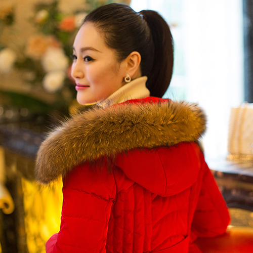 Big raccoon fur collar article cap is maomao made the whole article fur collar men and women the fox fur collar off the collar