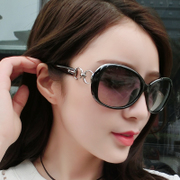 Women's fashion sunglasses sunglasses women's 2017 new fashion driving retro face round glasses